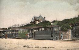 BIARRITZ  ARRIVEE DU TRAMWAY DE BAYONNE - Biarritz