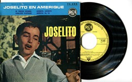 EP 45tours : JOSELITO : Joselito En Amérique (1962) - Vinyles