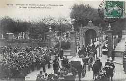 29)  BREST  - Obsèques Des Victimes Du Lutin - 6 Novembre 1906 - Le Corps Du Premier Maître Nicolas - Brest