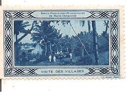 TIMBRE-VIGNETTE_Vers 1930-SOEURS CATECHISTES MISSIONNAIRES De MARIE IMMACULEE-Comme Neuf-RARE - Cultures