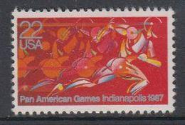 USA 1987 Pan American Games Indianapolis 1v ** Mnh (40746F) - Ongebruikt