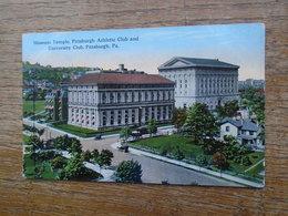 Pittsburgh , Masonic Temple , Pittsburgh Athletic Club And University Club - Pittsburgh