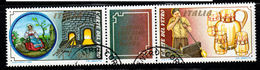ITALIA  1984 Lavoro Italiano Nel Mondo Coppia Con Bandella Used 1° Giorno - 6. 1946-.. Repubblica