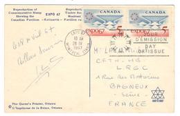 7856 - EXPO MONTREAL  67 - 1952-.... Règne D'Elizabeth II