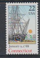 USA 1988 Connecticut 1v ** Mnh (40746F) - Ongebruikt