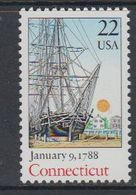 USA 1988 Connecticut 1v ** Mnh (40746F) - Nuovi