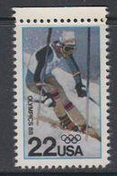 USA 1988 Winter Olympics 1v ** Mnh (40746H) - Ongebruikt