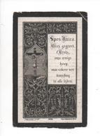 JOZEF VERMEIREN ° TEMSCHE 1812 + 1891 LID VAN DEN DERDE REGEL..36 JAAR IEVERVOLLE OPPERMEESTER ZONDAGSCHOOL - Images Religieuses
