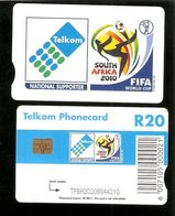 SOUTH AFRICA -   Chip Phonecard - SPORT - Football - Puzzles