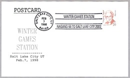 WINTER GAMES - NAGANO 98 TO SALT LAKE CITY 2002. Salt Lake City UT 1998 - Invierno 1998: Nagano