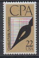 USA 1987 Certified Public Accounts 1v ** Mnh (40747A) - Ongebruikt