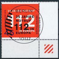 BRD 2016 / MiNr.   3212  Rechts Unten Ecke Mit Ersttagsstempel  O / Used  (d1424) - [7] République Fédérale