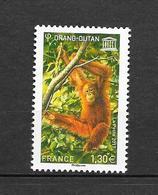 Orang Outan. Timbre De Service. N°170 Chez YT. (Voir Commentaires) - Chimpanzés