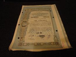 OBBLIGAZIONE BANCO DI SICILIA LIRE 100.000-1953 - Banca & Assicurazione