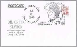 CHIEF CORNPLANTER - Jefe Cornplanter. Oil City PA 1999 - American Indians