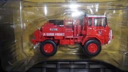 """CAMION   POMPIER    /  IVECO  UNIC 75 PC   """"  1/43 E   NEUF DANS SA BOITE D'ORIGINE + FASCICULE - Trucks"""