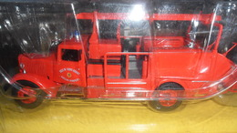 "CAMION   POMPIER    /  CITROEN TYPE  45      ""  1/43 E   NEUF DANS SA BOITE D'ORIGINE + FASCICULE - Trucks"