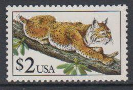 USA 1990 Wild Cat / Lynx 1v ** Mnh (40747D) - Ongebruikt
