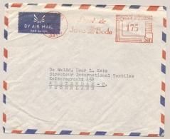 Nederlands Indië / Indonesia - 1953 - 175 Sen Roodfrankering / Meter 331,  LEEST DE JAVABODE - Nederlands-Indië