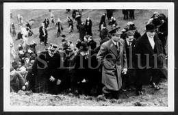 Postcard / ROYALTY / Belgique / België / Roi Leopold III / Koning Leopold III / Borinage / Monsville / Quaregnon / 1937 - Quaregnon