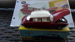 "AUTOMOBILE    / CITROEN  DS 19  /  DINKY TOYS  ED ATLAS       ""     NEUF DANS SA BOITE D'ORIGINE + FASCICULE - Dinky"