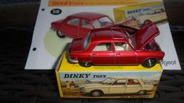 "AUTOMOBILE    / PEUGEOT  204    /  DINKY TOYS  ED ATLAS       ""     NEUF DANS SA BOITE D'ORIGINE + FASCICULE - Dinky"