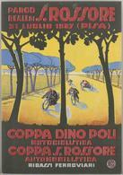 Car Automobile Grand Prix Pisa 1929 & Coppa Dino Poli Motociclistica - Reproduction - Publicidad