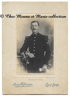 CHALON SUR SAONE 1910 - CHARLES NOLANT 31 EME REGIMENT - INSIGNE BON TIREUR - SAONE ET LOIRE - CDV PHOTO MILITAIRE - Guerre, Militaire