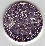(Monnaies). France 10 Euros Des Regions Argent Ag Guadeloupe 2012 Chevalier De Saint Georges - Frankrijk