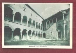 Bracciano Corte Del Castello Odescalchi ITALY FORMATO PICCOLO NON VIAGGIATA - Autres Villes