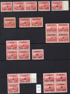 Costa Rica 1929 5c/2Col Telegraph Lines And Steam Railway Train – Many Types And Varieties – See Text. - Costa Rica