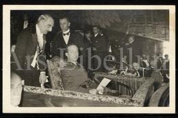 Postcard / ROYALTY / Belgique / België / Roi Leopold III / Koning Leopold III / Le Cinéma / Eldorado / Bruxelles / 1937 - Personnages Célèbres