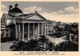 Cartolina Chiavari Santuario Cattedrale Basilica N.S.dell'Orto 1936 - Genova (Genoa)