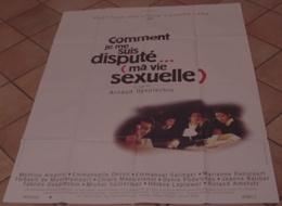 AFFICHE CINEMA ORIGINALE FILM COMMENT JE ME SUIS DISPUTE ( MA VIE SEXUELLE ) AMALRIC DESPLECHIN 1996 DEVOS - Posters