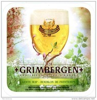 Grimbergen. 1128. Abdijbier. Bière D'abbaye. Lente Hop. Houblon De Printemps. Bier Met Liefde Gebrouwen. Bière Brassée.. - Beer Mats