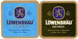 Löwenbräu. Original. Dunkel. Ein Bier Wie Bayern. Gebraut Nach Deutschen Qualitätsstandard. Münchner Brau-Tradition. - Beer Mats
