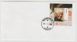 Liberia 2018 Mi. ? FDC S/S Joint Issue PAN African Postal Union Nelson Mandela Madiba 100 Years - Liberia