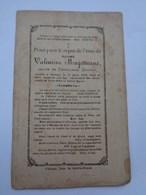 Réf: 41-17-37.  Mme MAGOTTEAUX  Valentine  Vve  DROPSY Ferdinand  BAILEUX - Décès