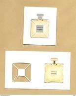 Carte Parfumée à Volet Perfume Card GABRIELLE * CHANEL * Fermé / Ouvert - Cartes Parfumées