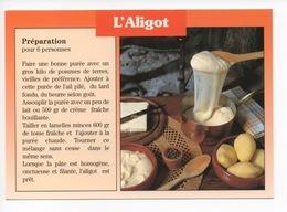 L'Aligot - Recette  - Pommes De Terre Lard Ail Fromage (cp Vierge) - France