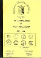 WEFIS N°67 Stempeltypes Van West-Vlaanderen Par R. DUSAUCHOIT 60 Pages - Philatelie Und Postgeschichte