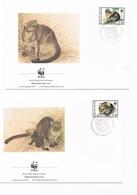 Suriname - FDC - WWF - N.4 Buste - 1995 - Suriname