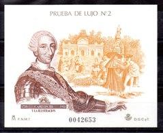 (OFERTA)Prueba De Lujo De España N ºEdifil 17 - 1981-90 Nuevos & Fijasellos