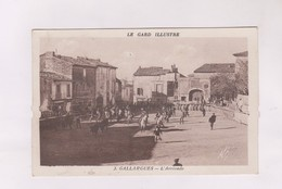 CPA DPT 30 GALLARGUES, L ARRIVADO (voir Timbre) - Gallargues-le-Montueux