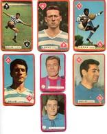 Carte Miroir Sprint Football : Lot 7 Joueurs Du Racing Club Paris Et Stade Français (6 X 10cm) - Trading Cards