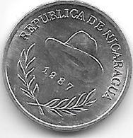 *nicaragua 10 Centavos 1987 Km 56 Bu/ms65 - Nicaragua