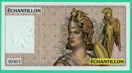 100 Francs Delacroix - France - Factice  Pour Test Des Distributeurs De Billets  - Spl - - Fictifs & Spécimens