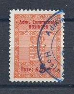 Taxe Communale Hosingen - 6,40 Francs (Cachet Administration Communale) - Fiscaux