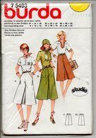 Burda Patroon Pattern Patron Voor Grote Maten Mode - Loisirs Créatifs