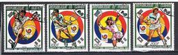 Jeux Olympiques D'été à Séoul N°845 à 848 - Guinea (1958-...)